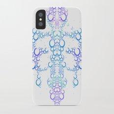 Ink Blot (Light) iPhone X Slim Case