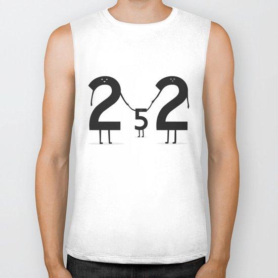 2 + 2 = 5 Biker Tank