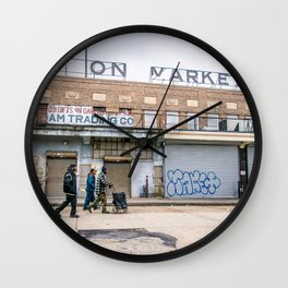 We Run These Streets Wall Clock