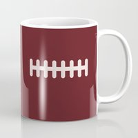football Mugs featuring Football by KatieKatherine