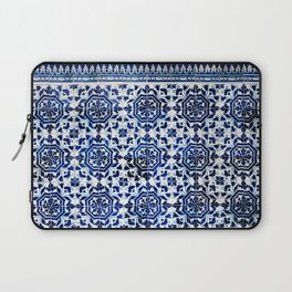 Cobalt Flourish Laptop Sleeve