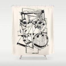 Urbanized Shower Curtain