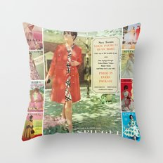 1969 - Spring SUmmer Catalog Cover Throw Pillow