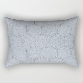 NYC Asphalt Beehive Rectangular Pillow