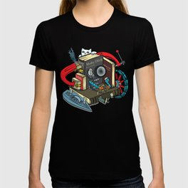 The Machine is one with your books T-shirt