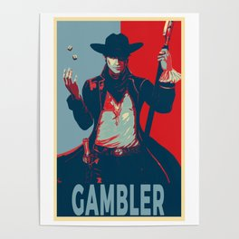 Elect the Gambler Poster