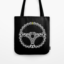 Steering Wheel Tote Bag