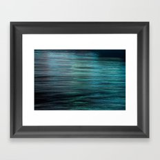 Night Light 138 - Ocean Framed Art Print
