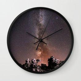 Milky Way #society6 #decor #buyart Wall Clock
