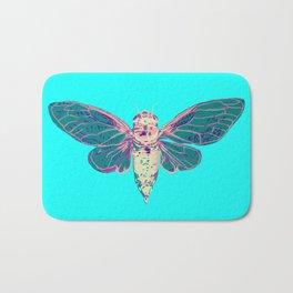 Flying Cicada Bath Mat