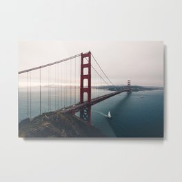 Golden Gate Bridge - San Francisco, CA Metal Print