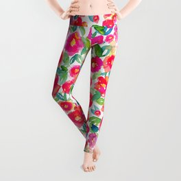 Hot Floral Mess Leggings