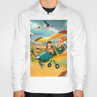 africa Hoodies featuring Africa by colortown