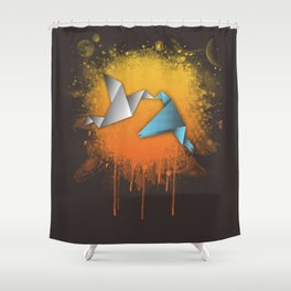 Flightless birds Shower Curtain