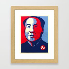 ObaMao Framed Art Print