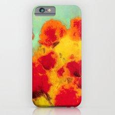 FLOWERS - Poppy time iPhone 6s Slim Case