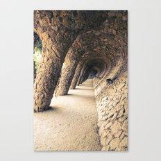 Colonnade Canvas Print