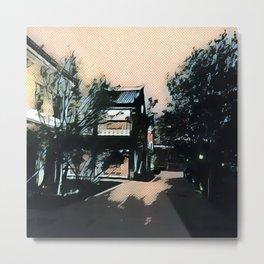 China Streets Metal Print