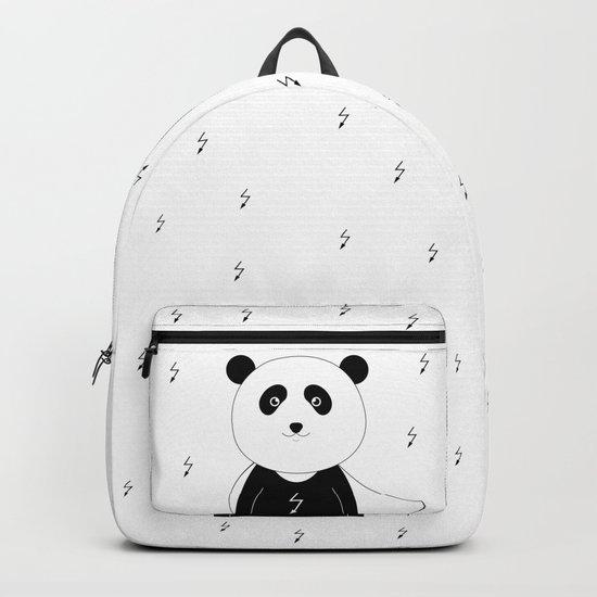 Panda superhero Backpack