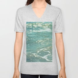 The Sea Delights Our Very Soul Unisex V-Neck