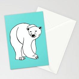 The Breathtaking Polar Bear Stationery Cards