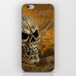 Skull And Sackcloth iPhone Skin