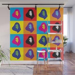 pop art girl Wall Mural