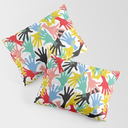 CELEBRATE! Graphic Hands Pillow Sham