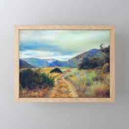 Fall nature landscape photography Framed Mini Art Print