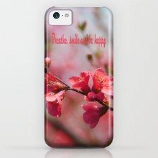Morning Sunshine Slim Case iPhone 5c