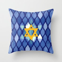 Jewish Celebration Throw Pillow
