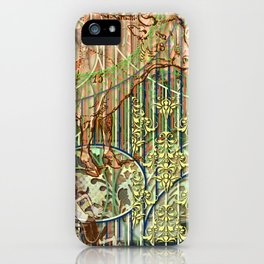 Driving Out Miss Martineau iPhone Case