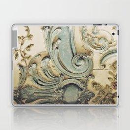 Blue Lace of Versailles Laptop & iPad Skin