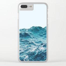 Menta Ocean Clear iPhone Case