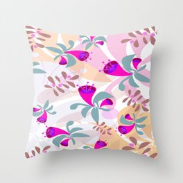 Spring Bells Throw Pillow