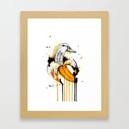 Duckana Framed Art Print