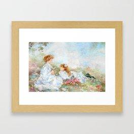 Mothers Memories Framed Art Print