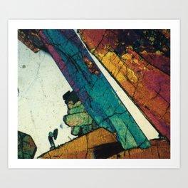 Epidote in Quartz Art Print