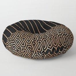 Art Deco No. 1 Quinn Floor Pillow