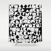 chaos Shower Curtains featuring Chaos  by Chris Klemens