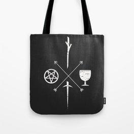 Tarot Symbols Tote Bag