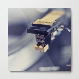 Needle on the Record III Metal Print