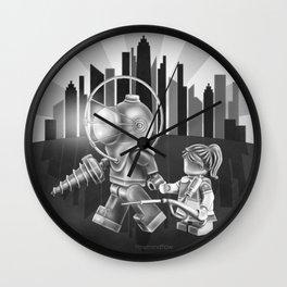 The Underwater Utopia Wall Clock