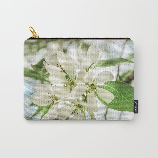 the Apple blossoms Carry-All Pouch