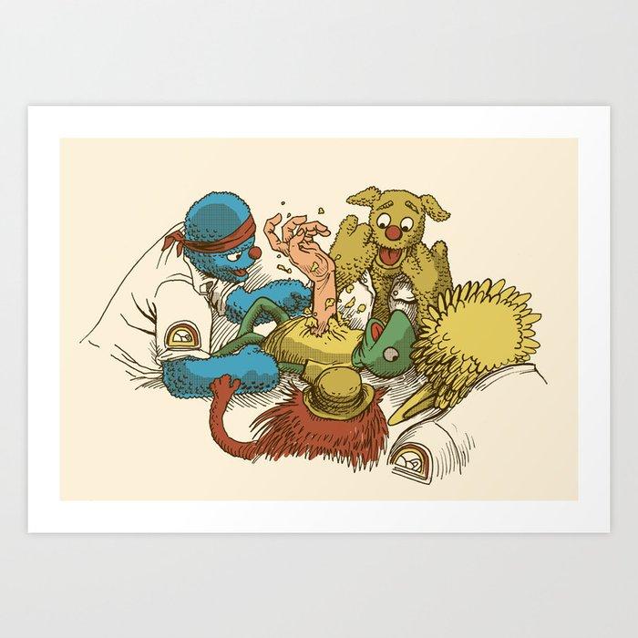 Open Sesame Art Print