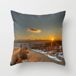 Pure Fire Throw Pillow