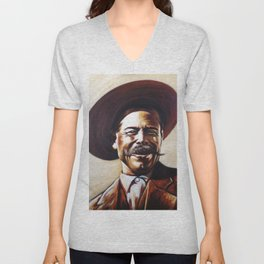 Pancho Villa Unisex V-Neck