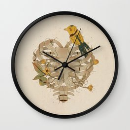 Where is the heart? Wall Clock