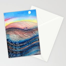 Dusky Hills Stationery Cards