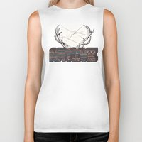 native american Biker Tanks featuring Native by Pilgrim